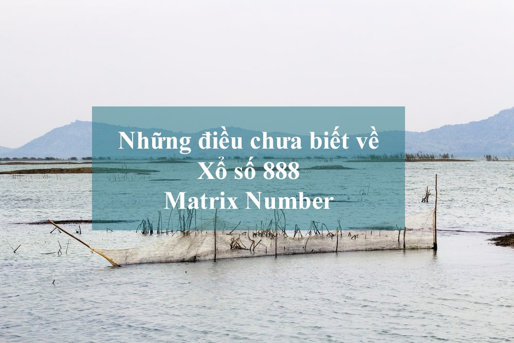 Xoso888 Matrix Number la gi